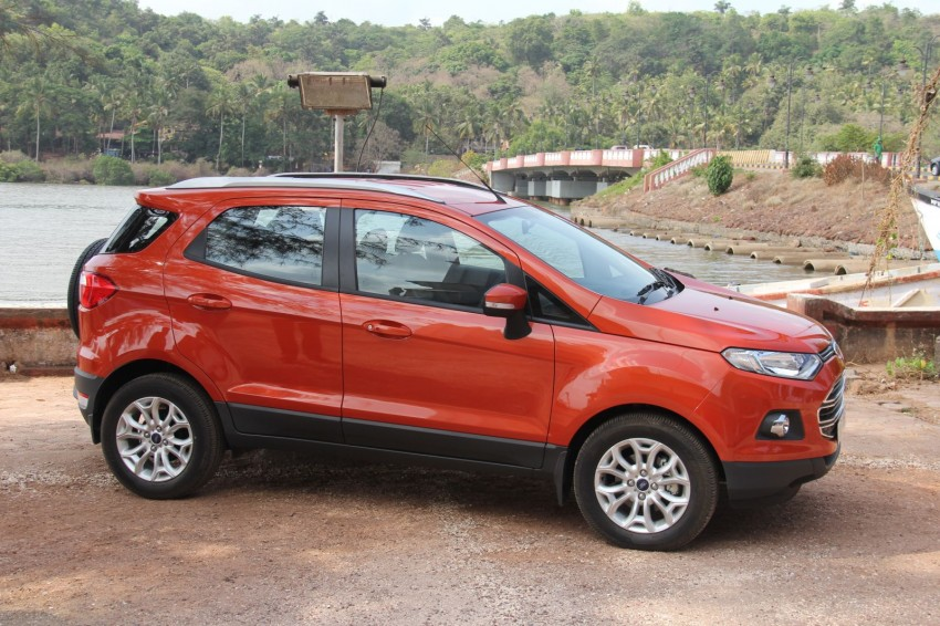 Ford EcoSport 1.0L EcoBoost: first impressions Image #173934