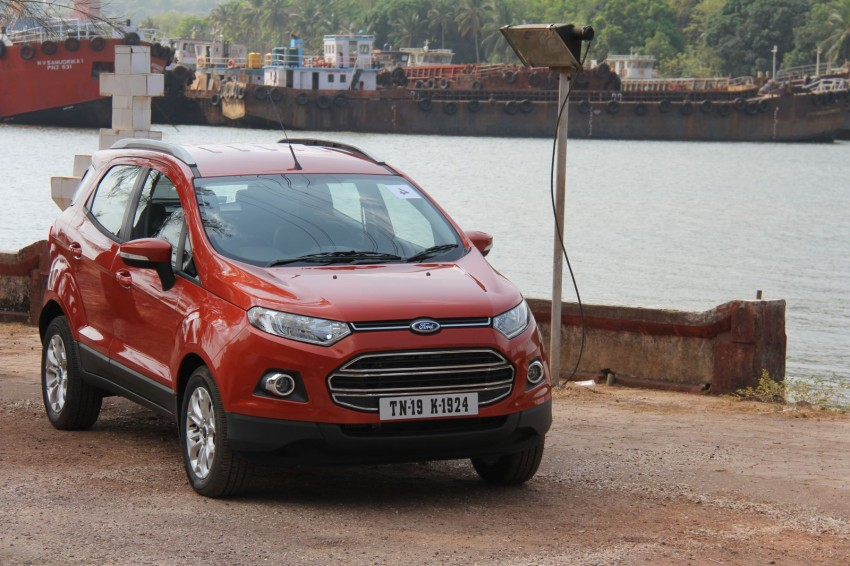 Ford EcoSport 1.0L EcoBoost: first impressions Image #173933