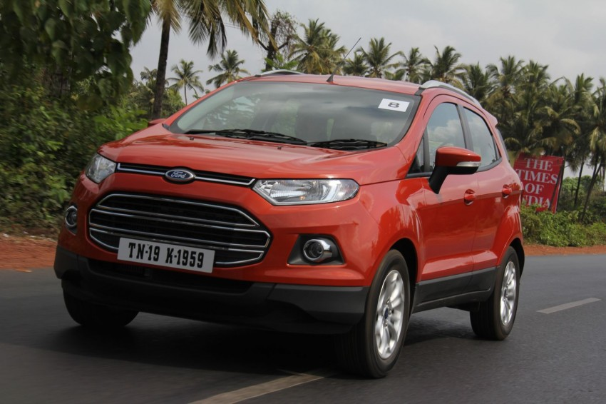 Ford EcoSport 1.0L EcoBoost: first impressions Image #173932