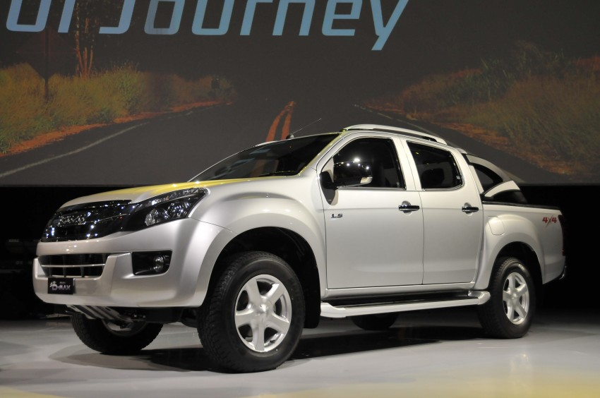 2nd-gen Isuzu D-Max launched – RM70k to RM101k Image #174448