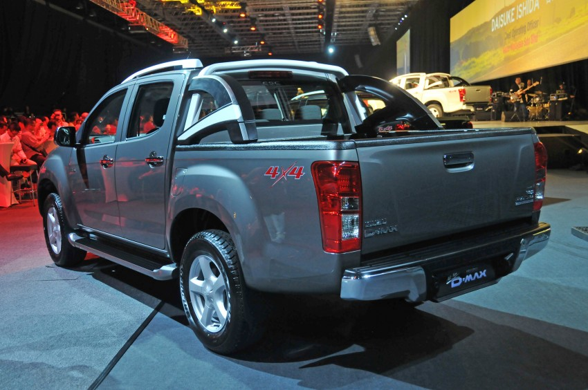 2nd-gen Isuzu D-Max launched – RM70k to RM101k Image #174461
