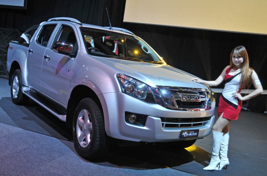 2nd-gen Isuzu D-Max launched – RM70k to RM101k Image #174465
