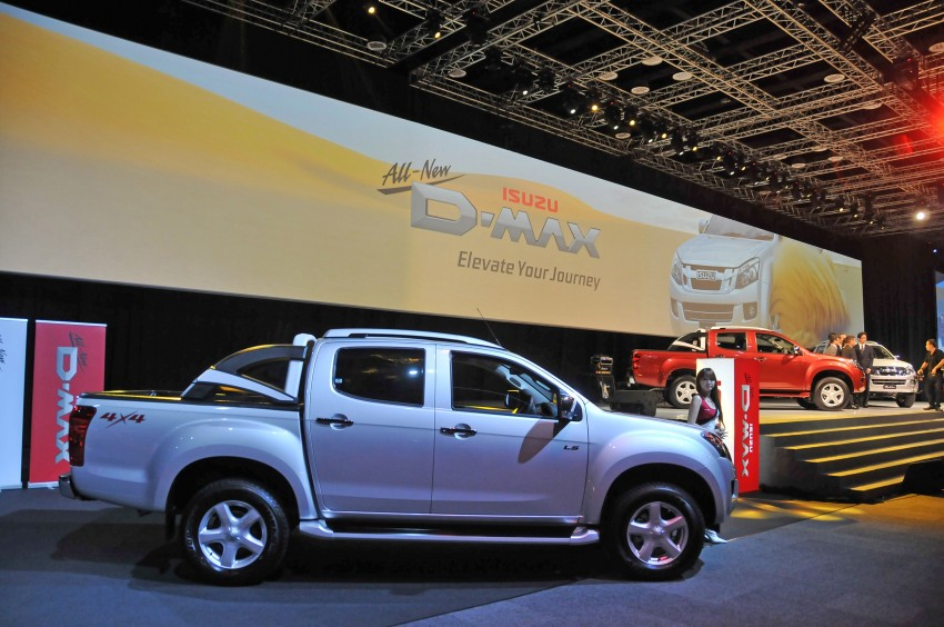 2nd-gen Isuzu D-Max launched – RM70k to RM101k Image #174466