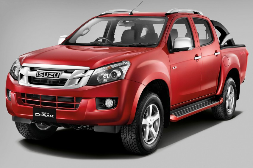 2nd-gen Isuzu D-Max launched – RM70k to RM101k Image #174405