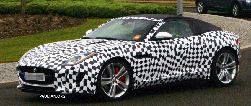 SPIED: Jaguar F-Type Coupe undergoing tests Image #173549