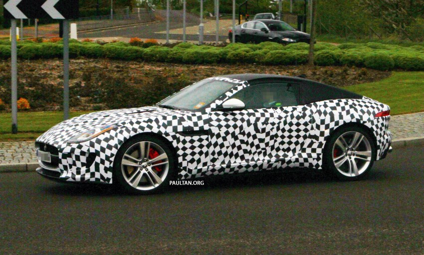 SPIED: Jaguar F-Type Coupe undergoing tests Image #173550