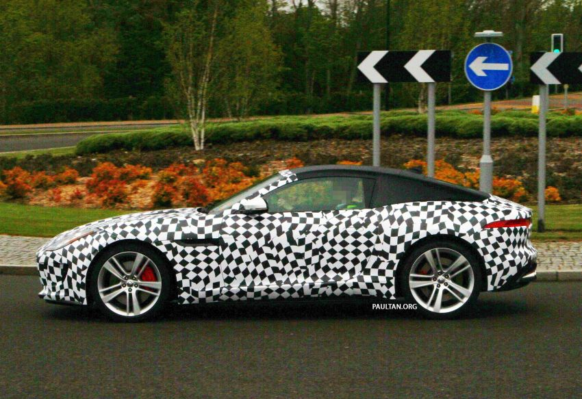 SPIED: Jaguar F-Type Coupe undergoing tests Image #173552