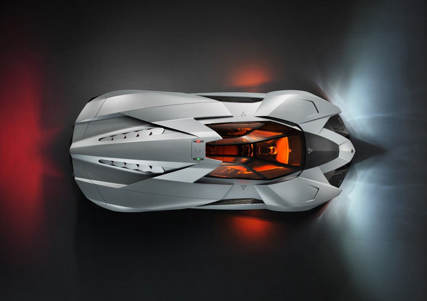 Lamborghini Egoista Concept: because two's a crowd Image #173766