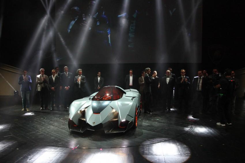 Lamborghini Egoista Concept: because two's a crowd Image #173770