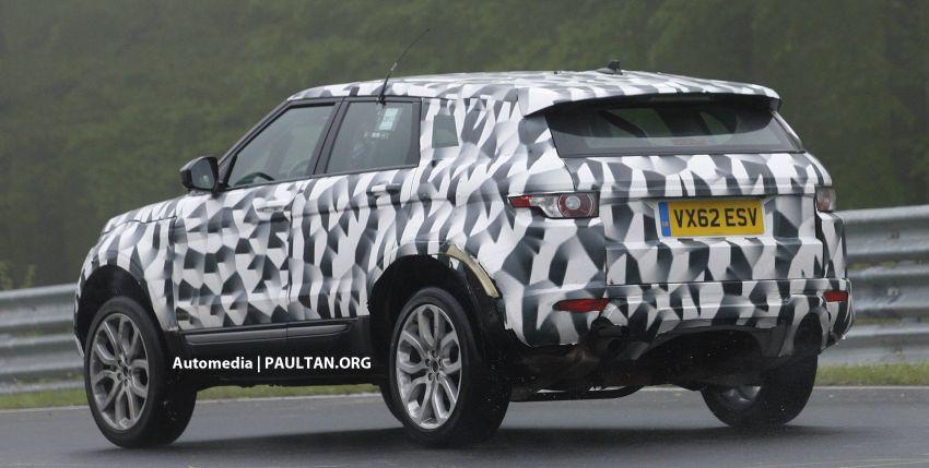 SPYSHOTS: New Land Rover Freelander seen testing Image #176567