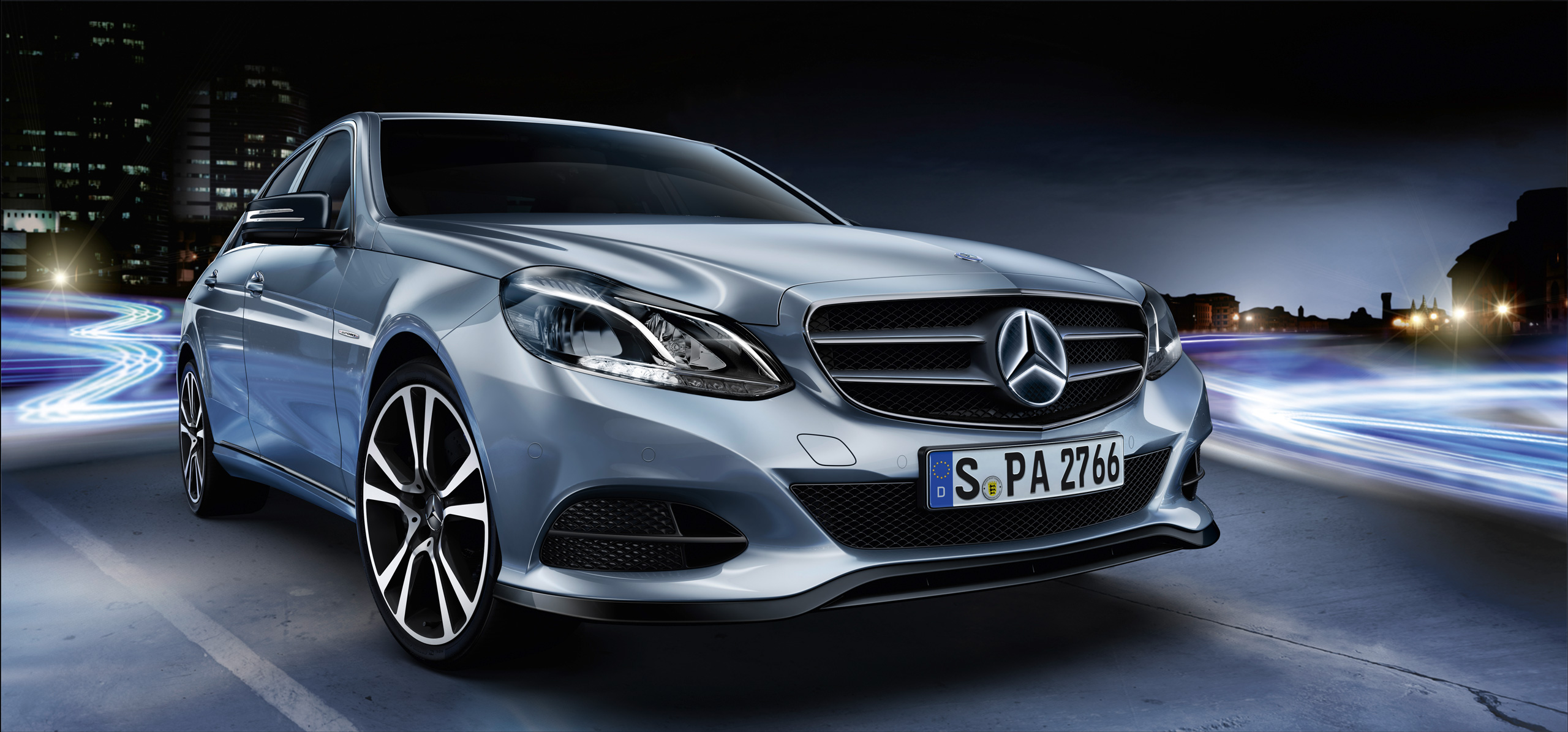 Official mercedes benz e class accessories released image for Mercedes benz acc