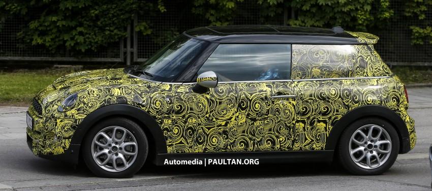 SPIED: Best look yet at the new MINI Cooper S 3-door Image #176686