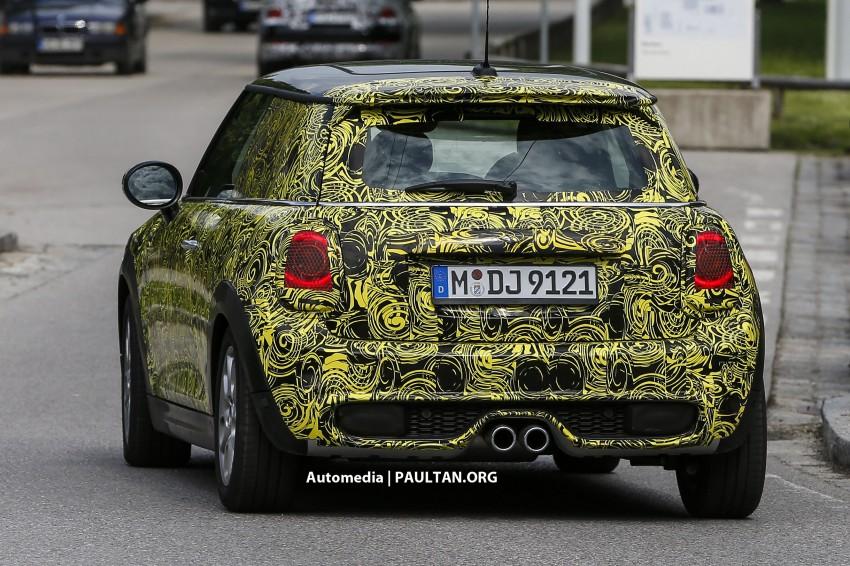 SPIED: Best look yet at the new MINI Cooper S 3-door Image #176688