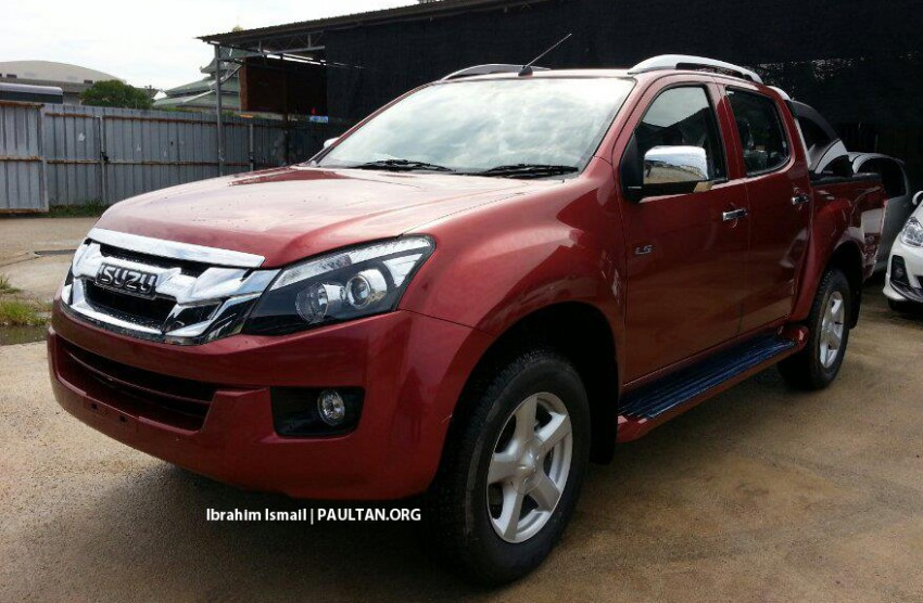 SPYSHOTS: New Isuzu D-Max spotted ahead of launch Image #174113