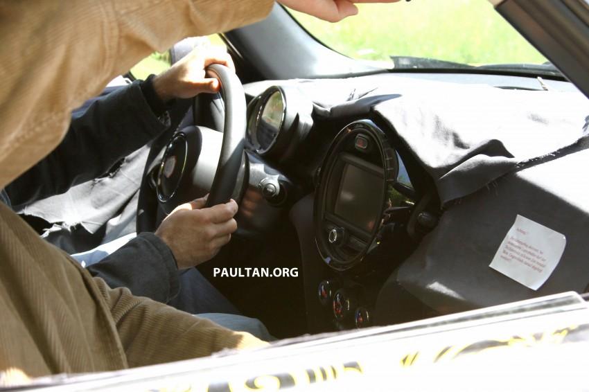 SPYSHOTS: Next MINI hatchback to grow larger again Image #174950