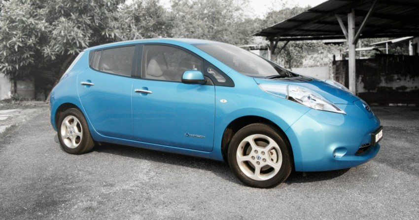 Tan Chong to launch Nissan Leaf EV in Q3 this year Image #173268