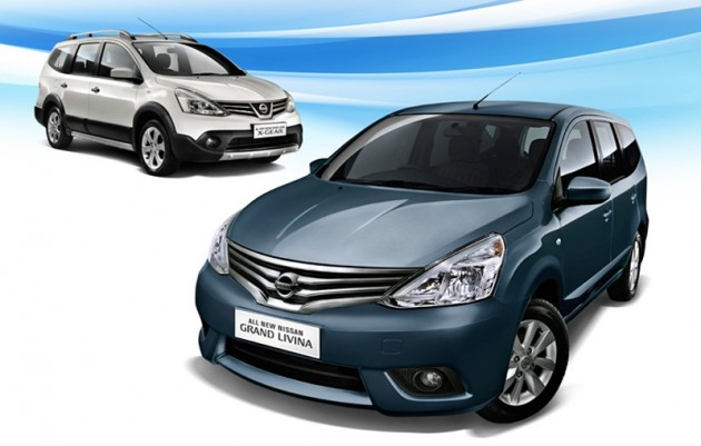The facelifted Nissan Grand Livina will be launched in Malaysia early