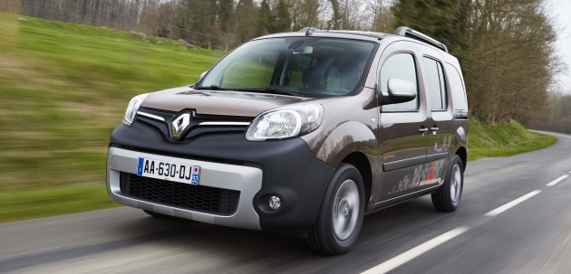 Renault Kangoo second-gen facelift