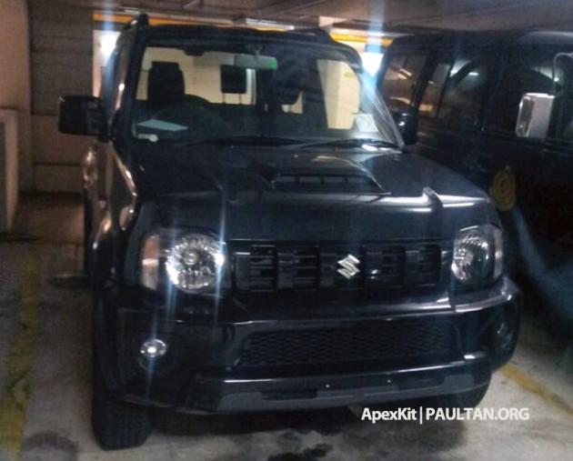 Suzuki Jimny spy 1