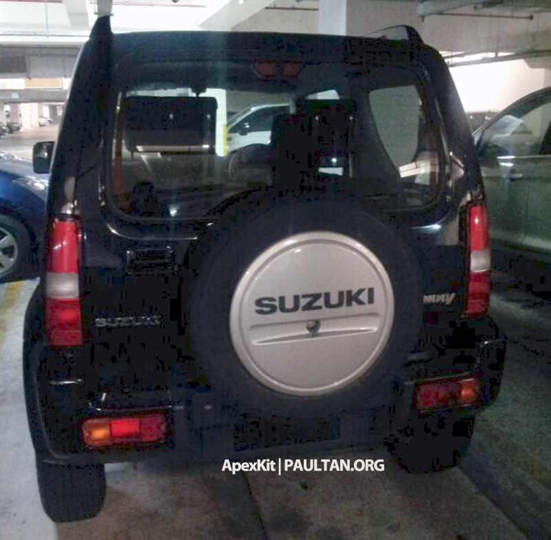 SPIED: Suzuki Jimny seen at JPJ Putrajaya Image #176493
