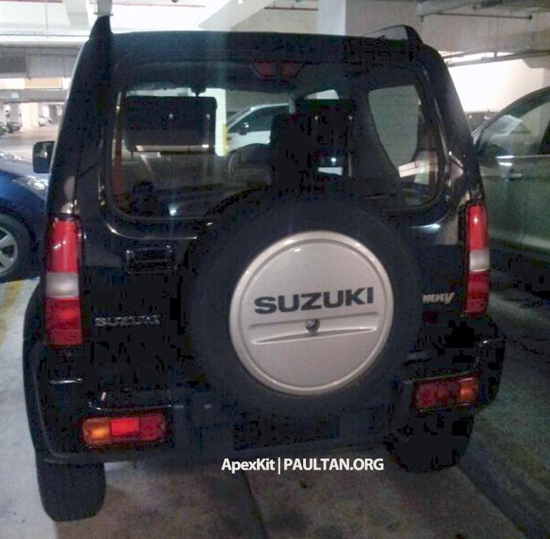 SPIED: Suzuki Jimny seen at JPJ Putrajaya Image #176493