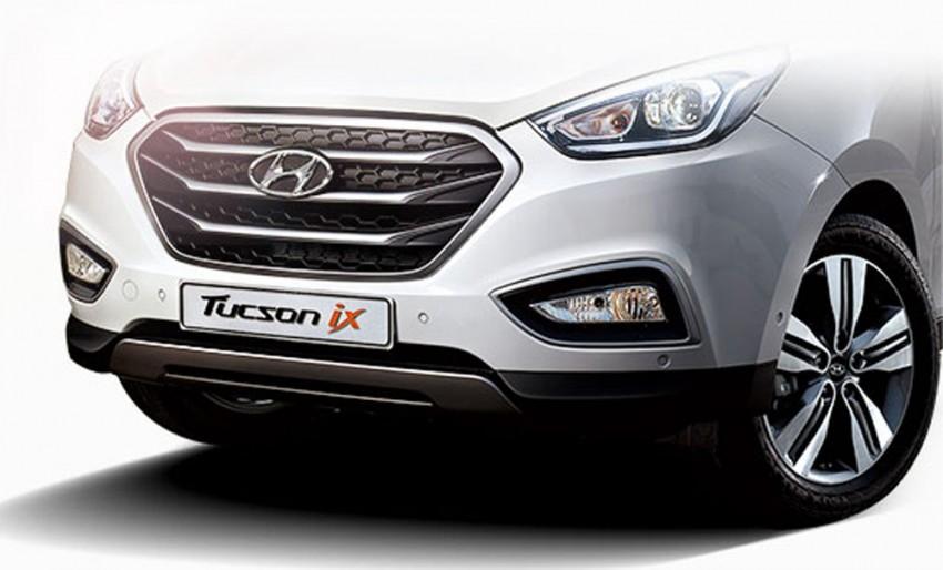 Hyundai Tucson facelift to make Korean debut Image #172990