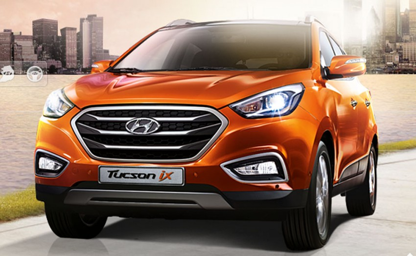 Hyundai Tucson facelift to make Korean debut Image #172998