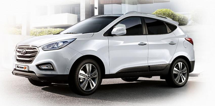 Hyundai Tucson facelift to make Korean debut Image #172996
