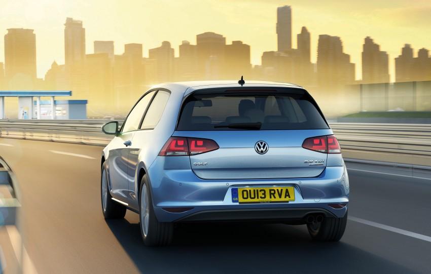 31 km/L, 85 g/km VW Golf BlueMotion on sale in UK Image #172636