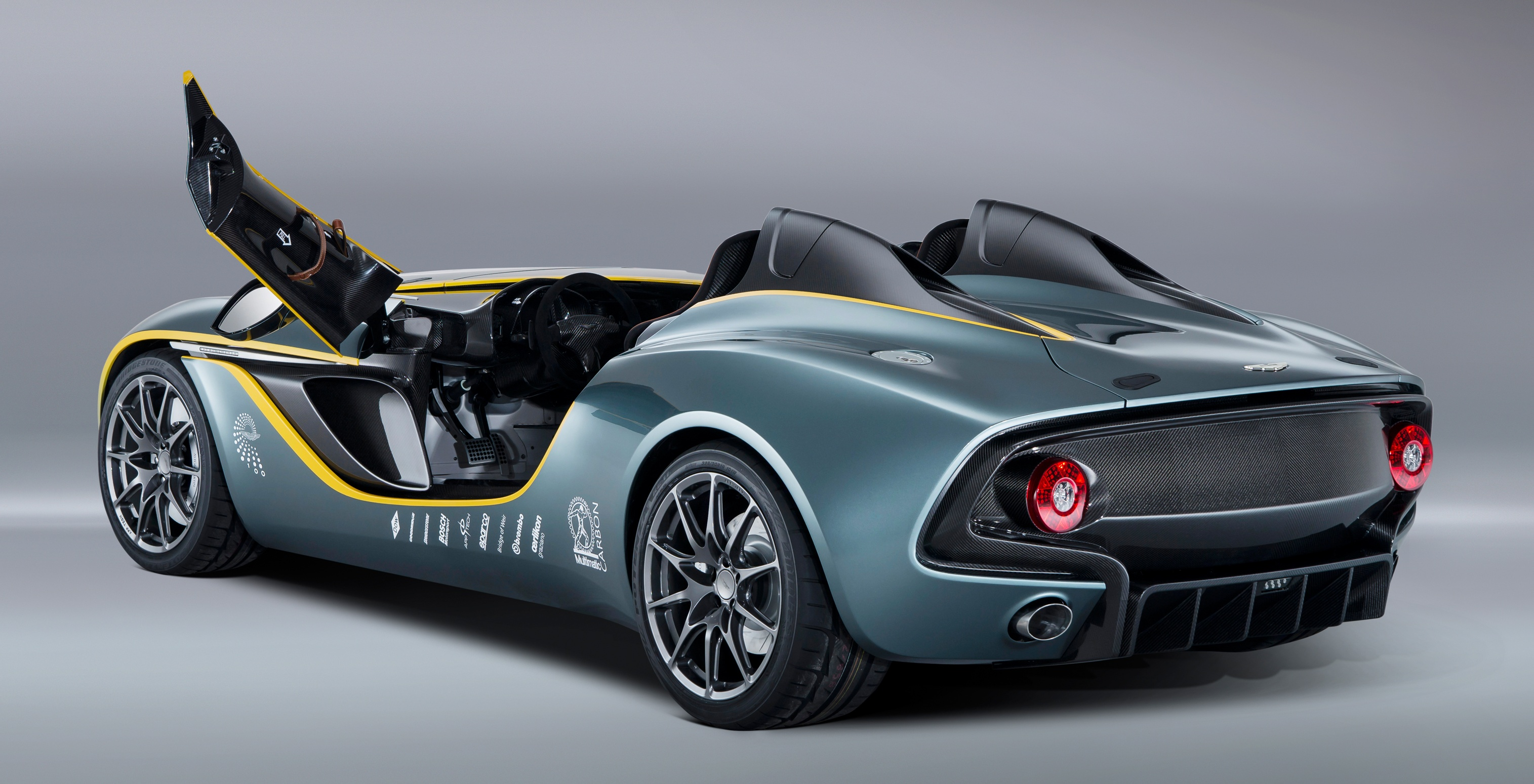 aston martin cc100 speedster concept is a one-off