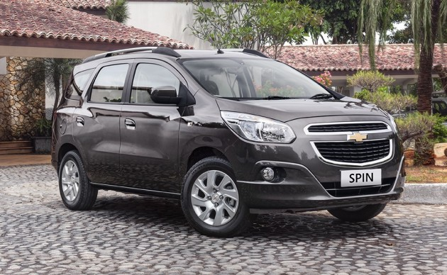 Chevrolet Spin Production Begins In Indonesia