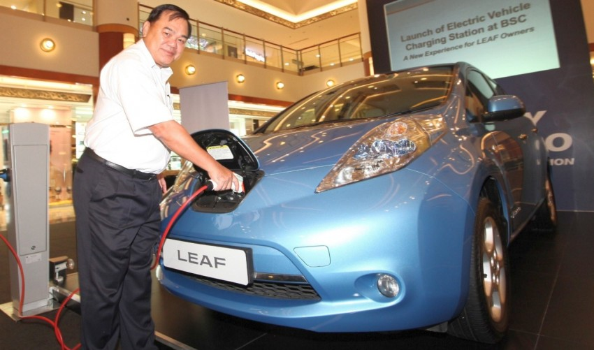 Tan Chong to launch Nissan Leaf EV in Q3 this year Image #173327