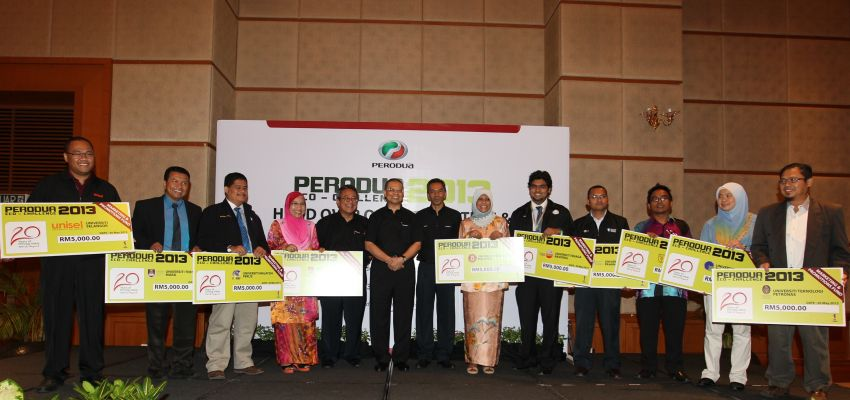 Perodua Eco Challenge 2013 launched – 10 teams to battle it out to see who can best redesign a Myvi Image #177543