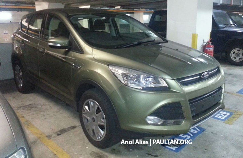 Ford Kuga – seen at 1U roadshow, also on test at JPJ Image #177089