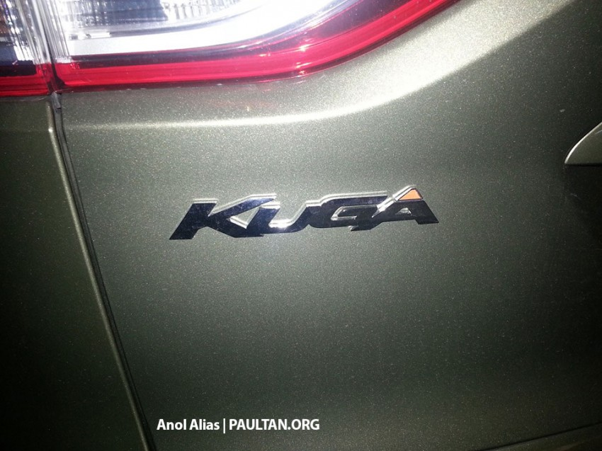 Ford Kuga – seen at 1U roadshow, also on test at JPJ Image #177092