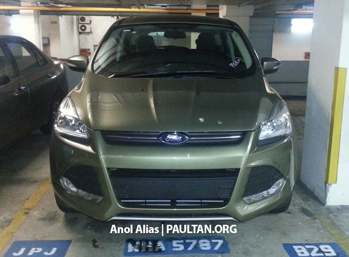 Ford Kuga – seen at 1U roadshow, also on test at JPJ Image #177095