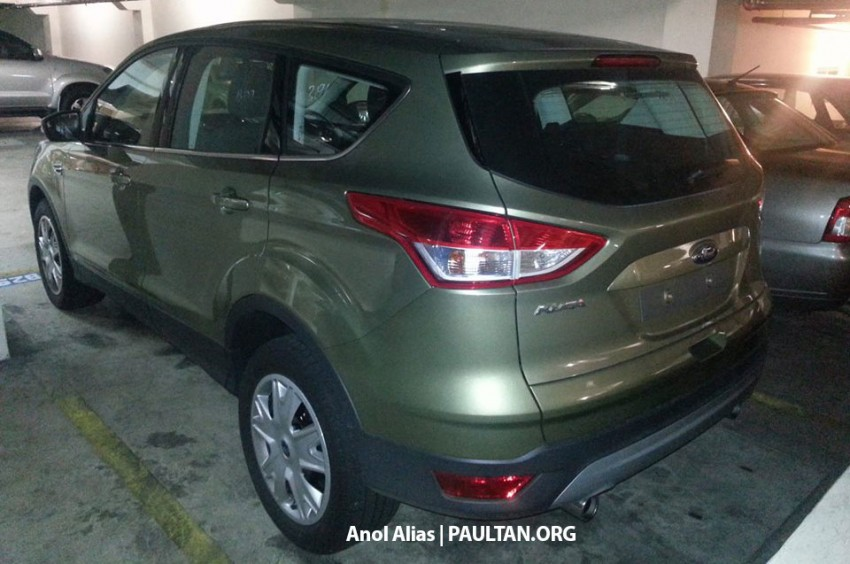 Ford Kuga – seen at 1U roadshow, also on test at JPJ Image #177096