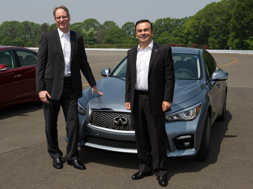 Infiniti Q50 coming to Malaysia, first unit rolls off line Image #175125