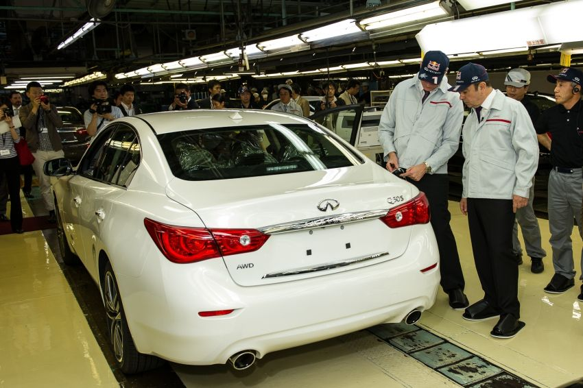 Infiniti Q50 coming to Malaysia, first unit rolls off line Image #175126