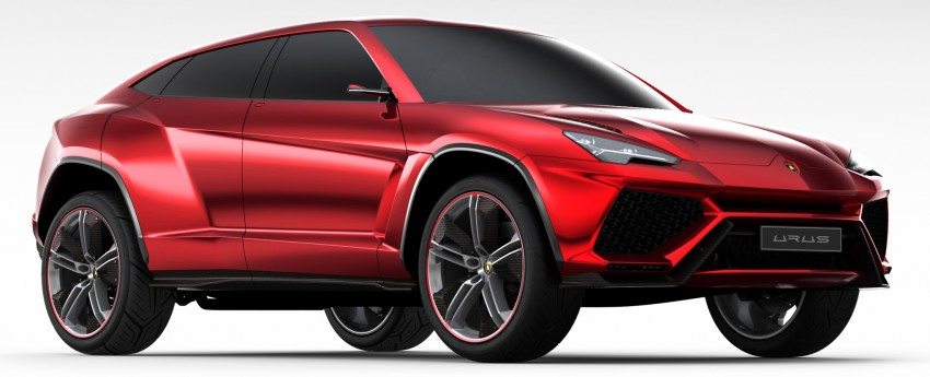 Lamborghini Urus confirmed for production in 2017 Image #174158