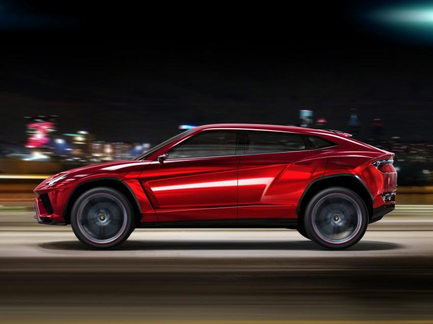 Lamborghini Urus confirmed for production in 2017 Image #174168
