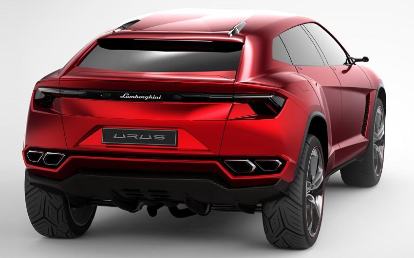 Lamborghini Urus confirmed for production in 2017 Image #174160