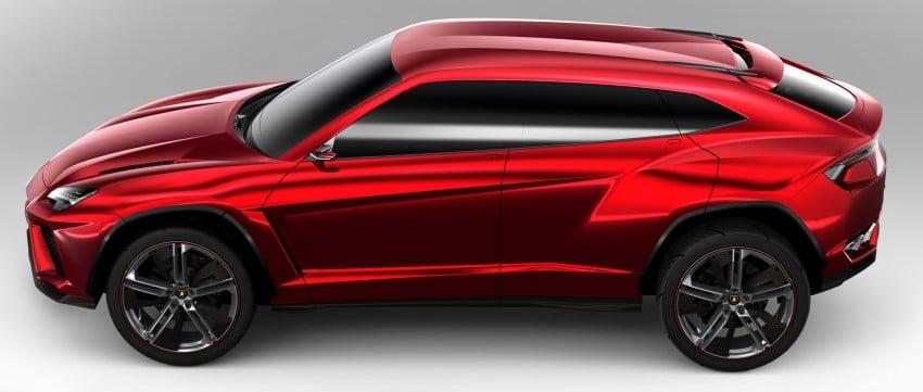 Lamborghini Urus confirmed for production in 2017 Image #174161