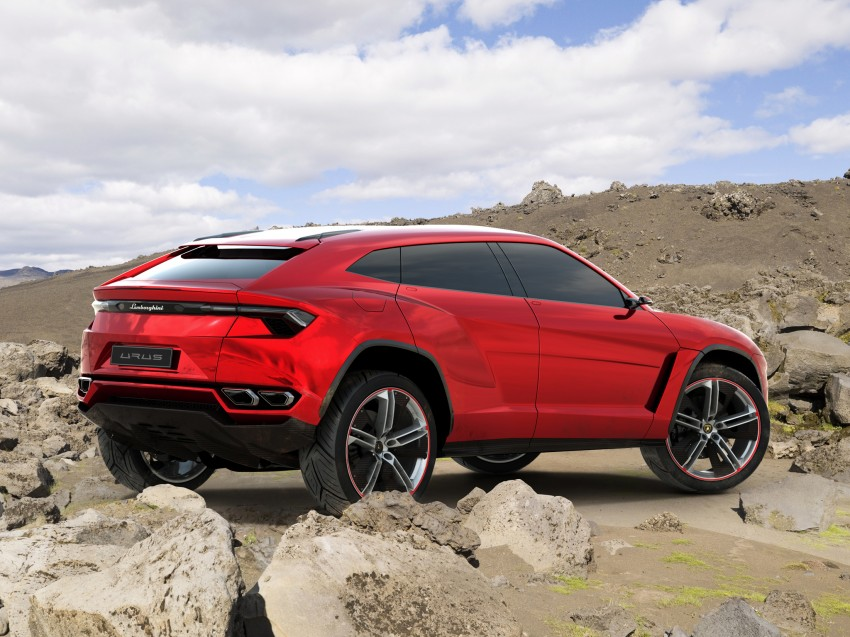 Lamborghini Urus confirmed for production in 2017 Image #174166