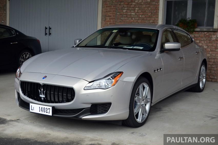 DRIVEN: New Maserati Quattroporte V6 tested in Italy Image #177407