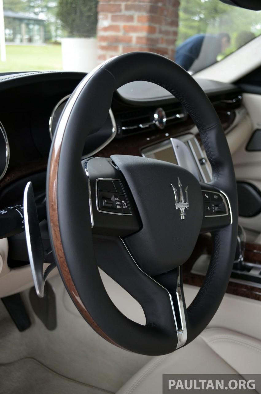 DRIVEN: New Maserati Quattroporte V6 tested in Italy Image #177417