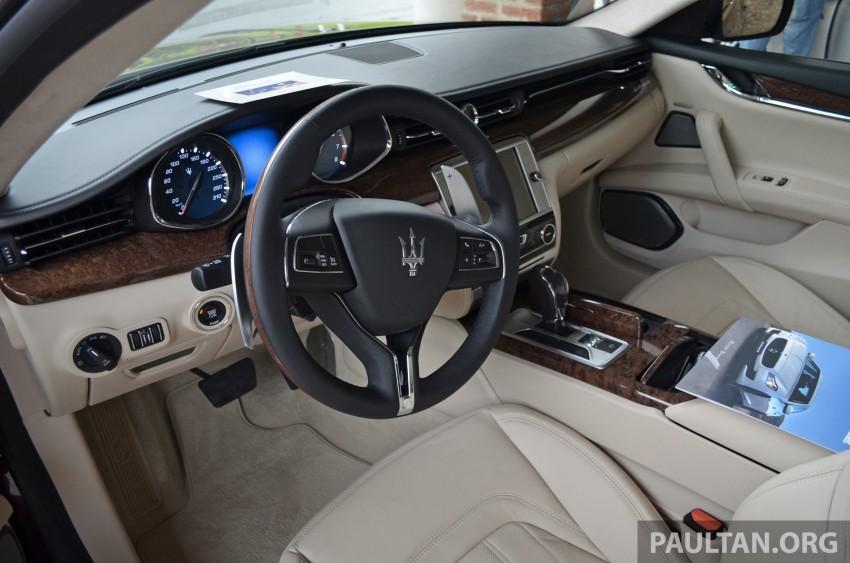 DRIVEN: New Maserati Quattroporte V6 tested in Italy Image #177418