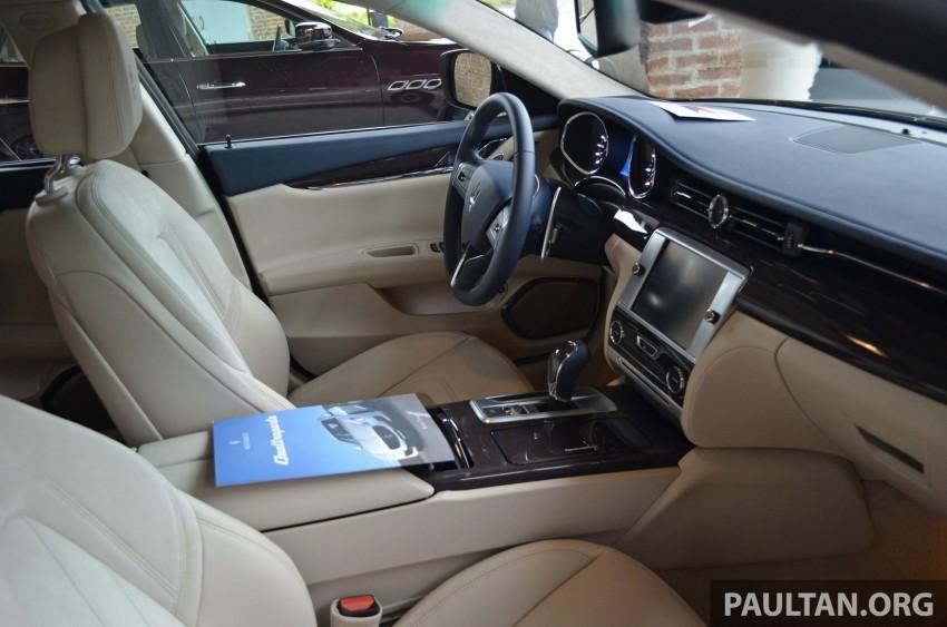 DRIVEN: New Maserati Quattroporte V6 tested in Italy Image #177426