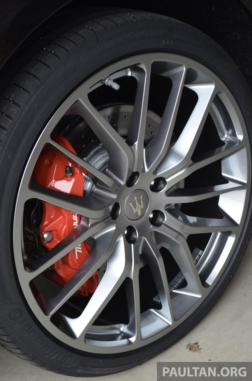 DRIVEN: New Maserati Quattroporte V6 tested in Italy Image #177430