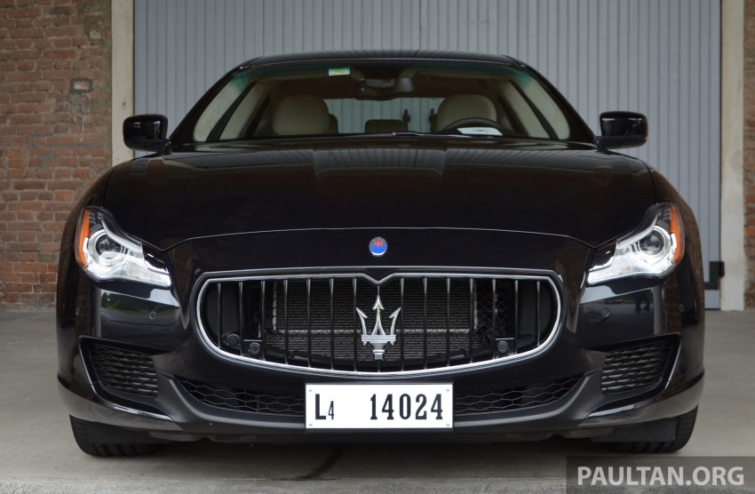DRIVEN: New Maserati Quattroporte V6 tested in Italy Image #177431